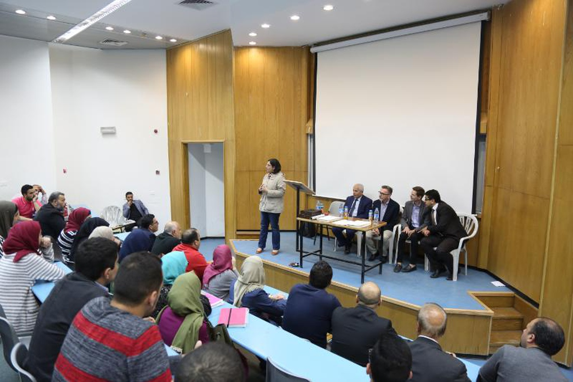 an national university an and the university of dr shaker khalil head of the economics department thanked the polish guests for offering the students this opportunity and discussed them further