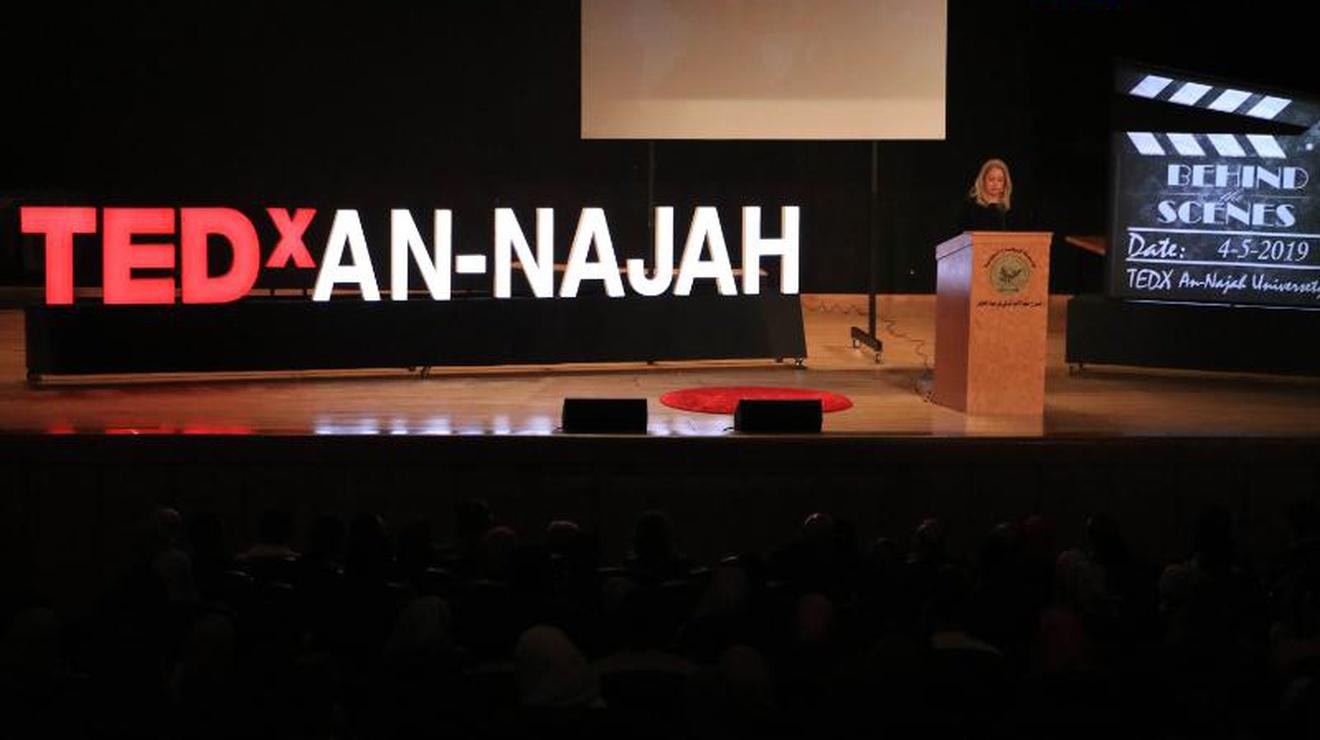 An-Najah National University - Hosting the Second TEDx Talks