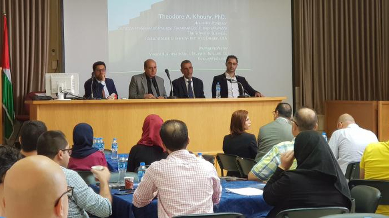 Organizing The Entrepreneurial Universities An Roach To Renovate Palestinian Work